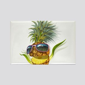 pineapple pineapples Rectangle Magnet